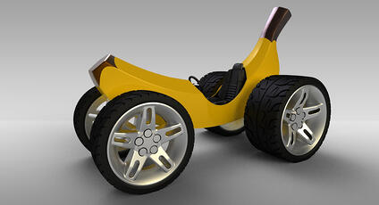 FranKey's Banana Car
