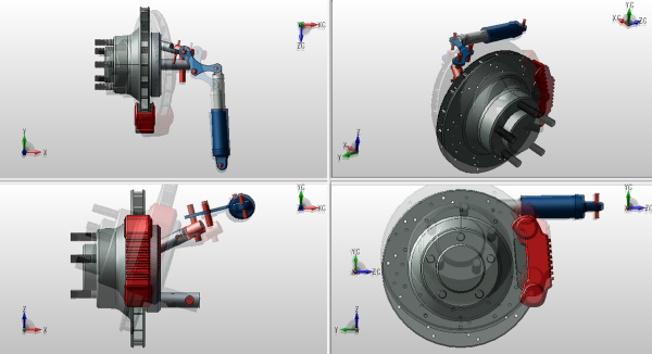 Using CAD animation saves potential (and often unnecessary) costs in manufacturing.