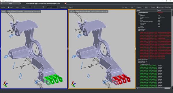 Compare Precise 3D CAD Models