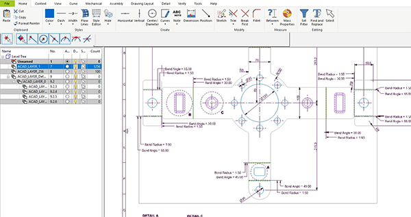 CAD Software Mechanical Drawing