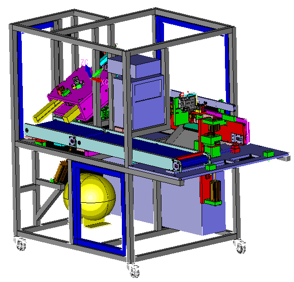 The model pictured is an example of a machine designed and built by Jenco.