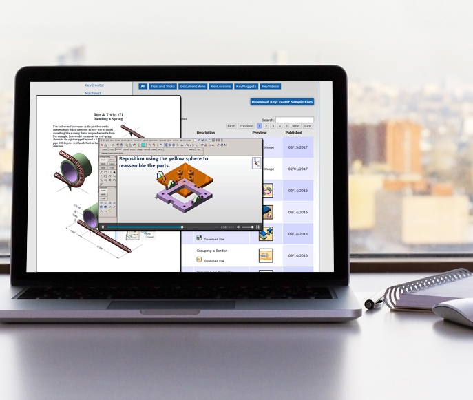 Free resources and forum for Kubotek3D software