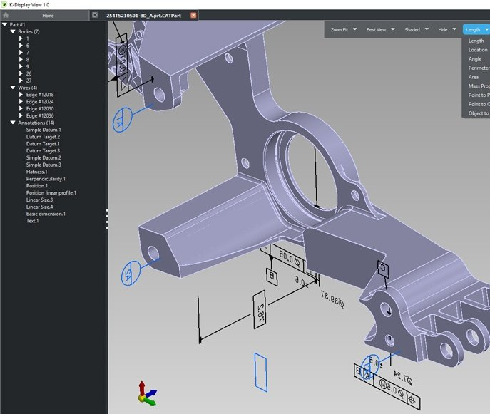 professional multi-CAD viewer easy visualization