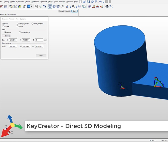 3D CAD for Maximium Agility | Unlock Design Projects | KeyCreator Keycreator Cad House Design on solidworks cad, vectorworks cad, nx cad,