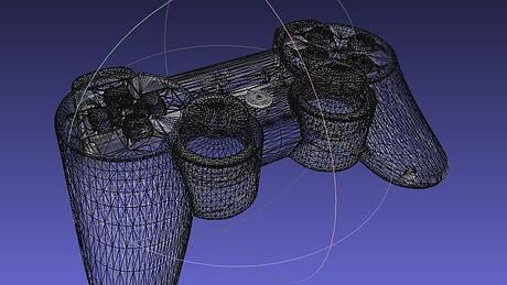 the type of file used for your 3D CAD design for Output matters