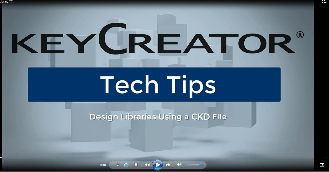 #TechTipTuesday--Design Libraries Using a CKD File