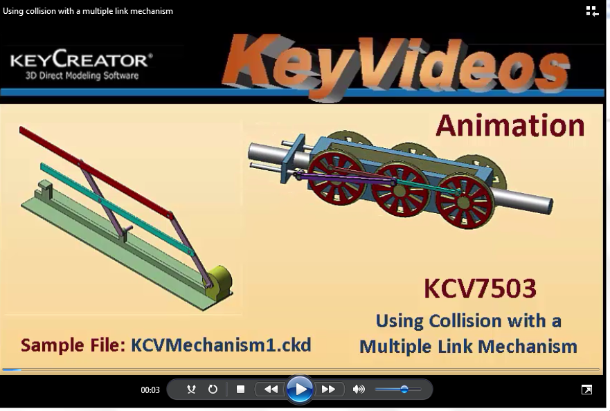 Tech TipTuesday--Animation: Using Collision with a Multiple Link Mechanism