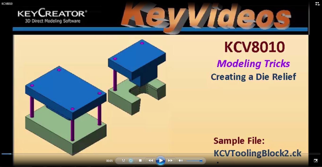 #TechTipTuesday: Modeling Trick- Creating a Die Relief