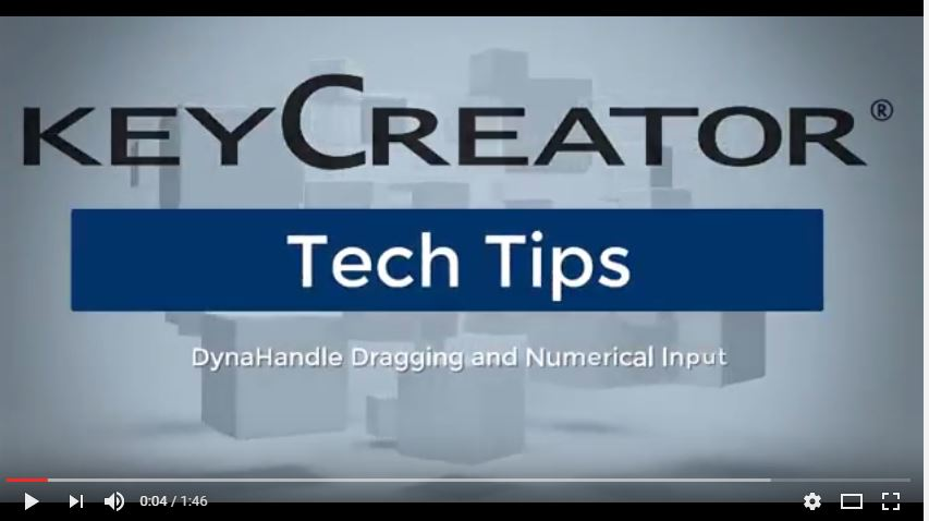 #TechTipTuesday-- Using DynaHandle Dragging and Numerical Input