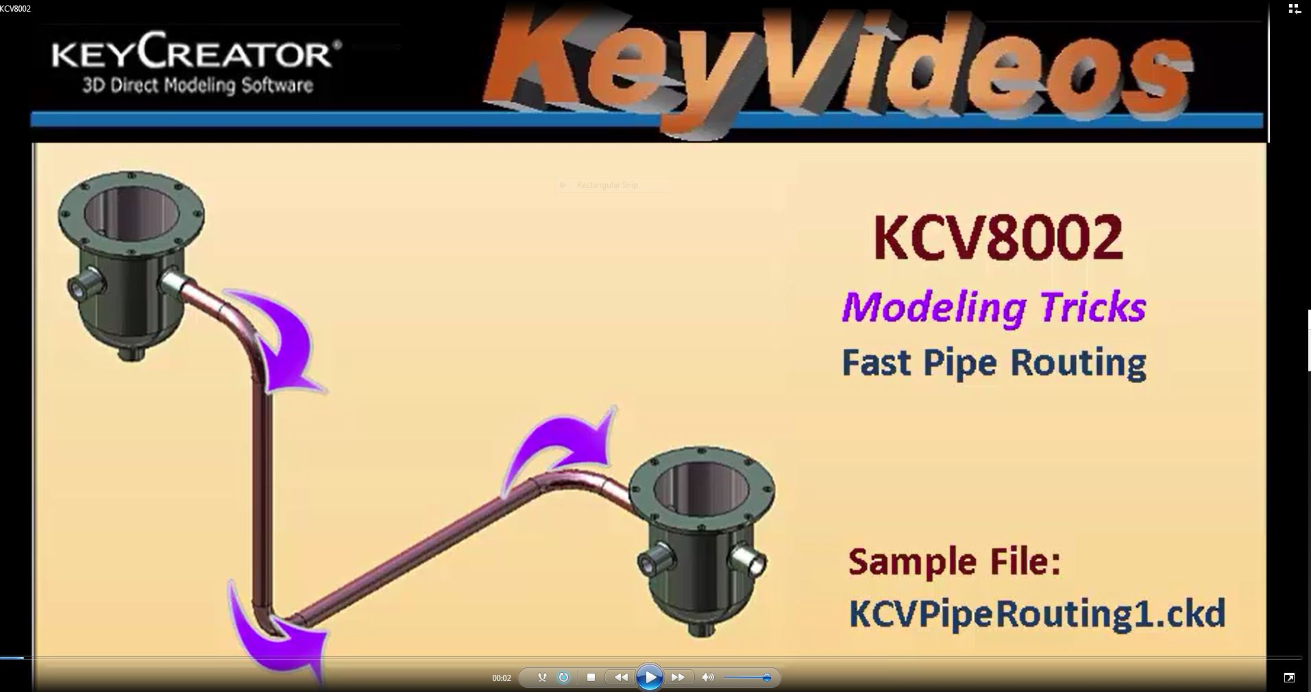 #TechTipTuesday: Modeling Trick- Fast Pipe Routing