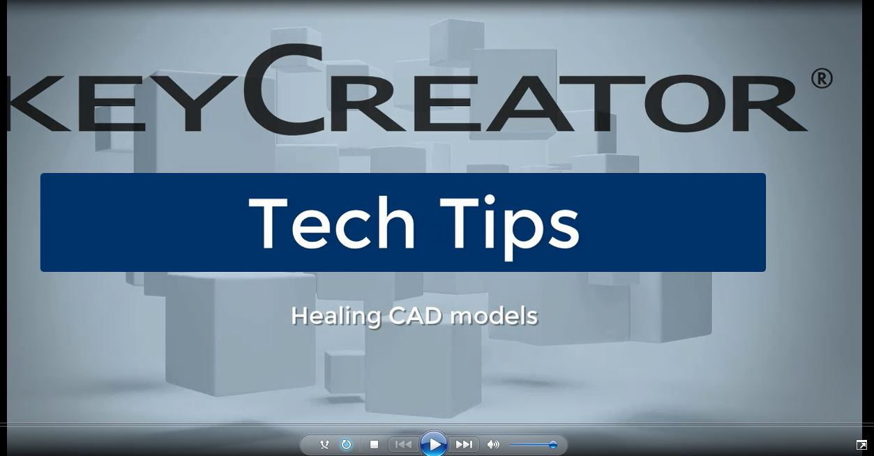 #TechTipTuesday-- Healing CAD Models with KeyCreator