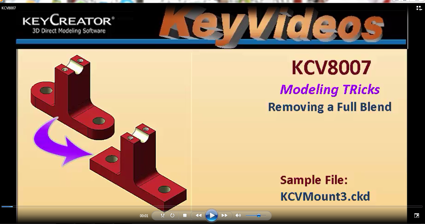 #TechTipTuesday Modeling Trick-- Removing a Full Blend