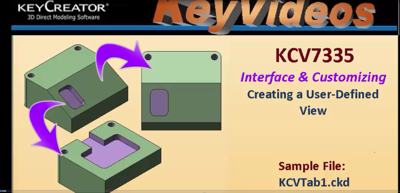 #TechTipTuesday Interface & Customizing Creating a User-Defined View in KeyCreator