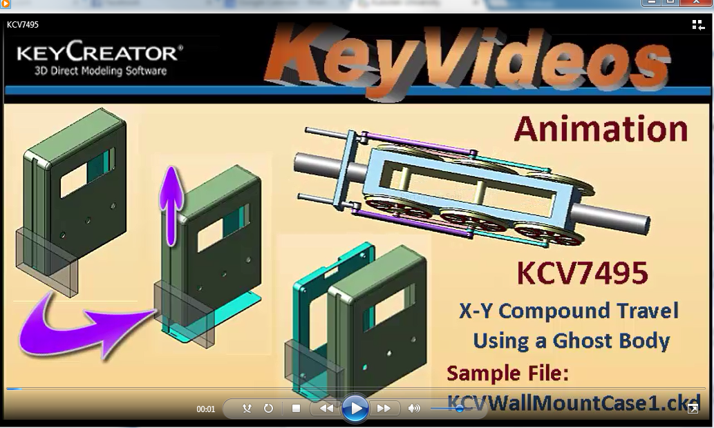 Tech TipTuesday--Animation: X-Y Compound Travel Using a Ghost Body